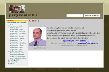"""P.U.H. """"Przy kominku"""" Jerzy Szafirowicz - Kominki Koszalin"""