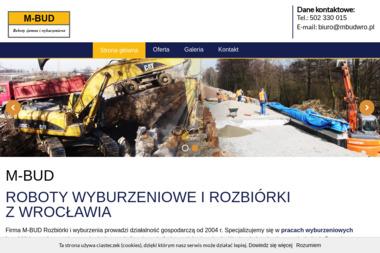 M-BUD Roboty ziemne i wyburzeniowe - Studnie głębinowe Wrocław