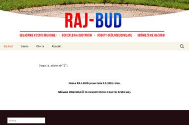 RAJ-BUD - Ocieplanie Pianką PUR Rajmundów