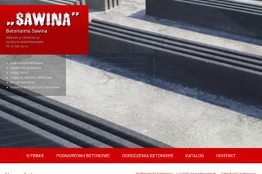 Sawina S-ka z o.o. - Skład budowlany Grodzisk mazowiecki