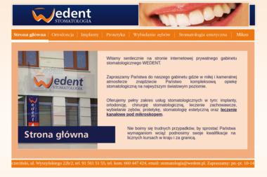 Wedent stomatologia - Ortodonta Stargard