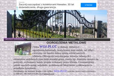PPHU WOJ-PŁOT Usługi ślusarskie - Sprzedaż Ogrodzeń Nowa Wieś Lęborska