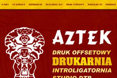 Aztek - Ulotki Bielsko-Biała