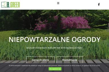 B.Green - Pracownia Projektowania Przestrzeni Magdalena Chrostowska - Architekt Krajobrazu Poznań
