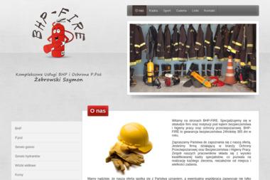 BHP-FIRE Kompleksowe usługi BHP i ochrona P. poż. - Dotacje na Rozwój Firmy Płońsk
