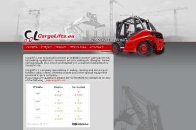 Cargolifts ADAM PLISZKA - Wynajem wózków widłowych Żukowo
