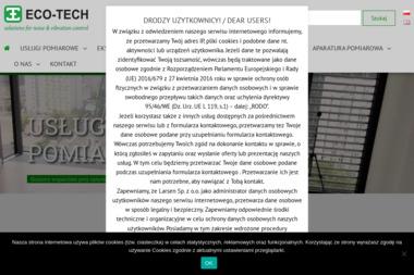 ECO-TECH - Ochrona środowiska Warszawa