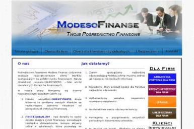 Modeso Finanse - Kredyt hipoteczny Zbąszyń