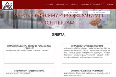 Lepbud prb - Domy z keramzytu Piekary Śląskie