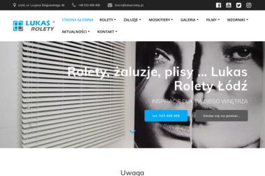 LUKAS S.C. LukasRolety - Balustrady Łódź