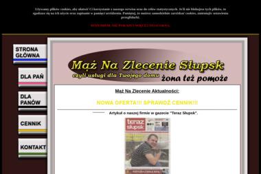 Www.MazNaZlecenie-slupsk.pl mąż na zlecenie dla Pań dla Panów-Cennik - Serwis komputerów, telefonów, internetu Słupsk