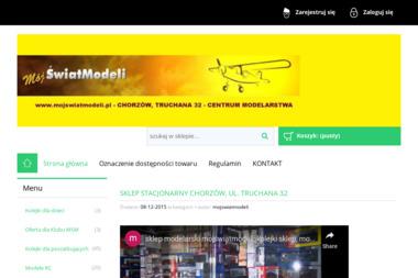 Sklep Modelarski Mój 艢wiat Modeli - Hurtownia zabawek i gier Chorzów