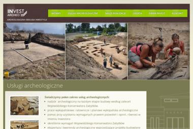 Archeo-Invest Usługi archeologiczne - Firmy inżynieryjne Łomianki