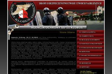"""Agencja Ochrony SS-11 """"KLOBUS"""" - Agencja ochrony Żywiec"""