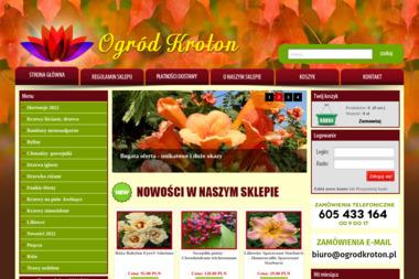 PPHU Kroton - Ogród i rośliny Wrocław