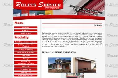 ROLETS SERVICE - Ogrodzenia Skarżysko Kamienna