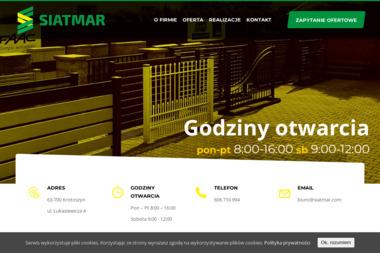 PHU SIATMAR - Ogrodzenia Kute Krotoszyn