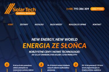 SOLAR-TECH - Firma Elektryczna WARKA