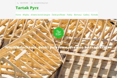 Tartak Usługowy Handel Drewnem i Tarcicą - Domy z bali Kasinka Mała