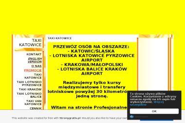 TAXI KATOWICE-TAXI LOTNISKO KATOWICE-TAXI LOTNISKO KRAKÓW-NAJTANIEJ - Wypożyczalnia samochodów Katowice, Pyrzowice, Balice