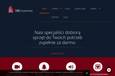 DBG Investment Sp. z o.o. - Urządzenia elektroniczne Warszawa