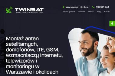 TWINSAT Łukasz Brzeziński - Montaż anten Warszawa