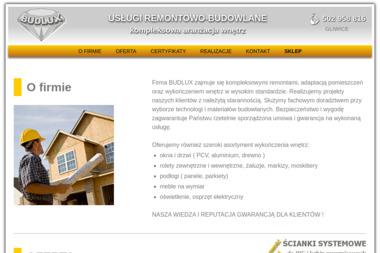 Budlux (www.budlux-gliwice.pl) - Remonty mieszkań Gliwice