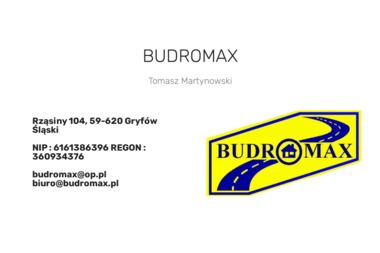 BUDROMAX S.C. - Piasek GRYFÓW ŚLĄSKI