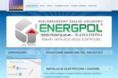 ENERGPOL-ELEKTRYK INSTALACJE POMIARY ELEKTRYCZNE I ODGROMOWE TYCHY PSZCZYNA KATOWICE - Elektryk WOLA