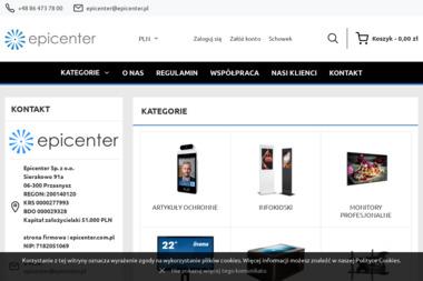 Epicenter Sp. z o.o. - Przęsła Ogrodzeniowe Kute Łomża