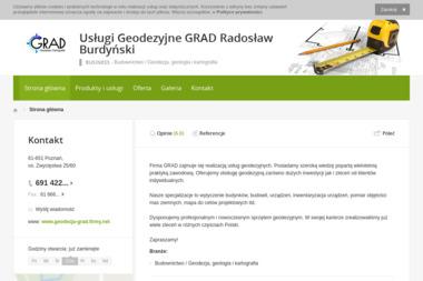 Usługi Geodezyjne GRAD - Budowa dróg Poznań
