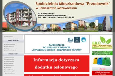 """Spółdzielnia Mieszkaniowa """"Przodownik"""" - Ocieplanie Pianką PUR Tomaszów Maz."""
