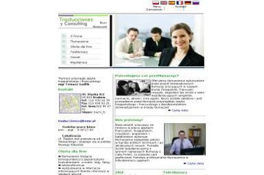 Traducciones y Consulting Tomasz Sadlik - TÅ'umacze Kraków