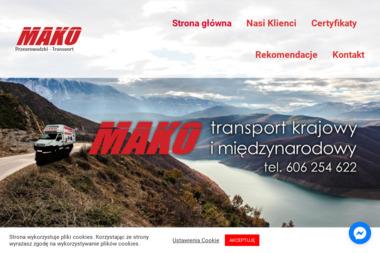 Firma Handlowo Usługowa MAKO - Firma transportowa Rzeszów
