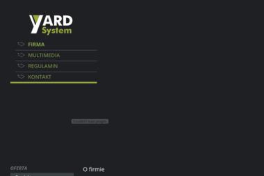 PPUH YARDSYSTEM - Urządzenia precyzyjne SWARZĘDZ
