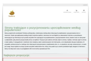 Three Layers of Software - Strony internetowe Ostrów Wlkp.