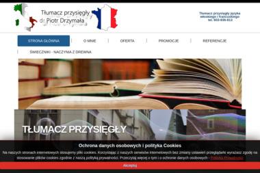 Piotr Drzyma艂a - T艂umacze Pozna艅