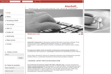 AlexSoft - Aleksander Trojanowski - Internet Łódź
