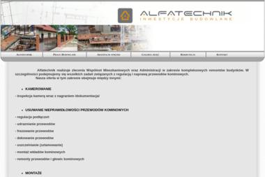 Alfa Technik - Murowanie ścian Łódź