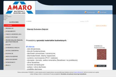 Amaro MB - Ogrodzenia panelowe Choroszcz