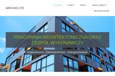 ARCHJO LTD sp.k. - Projekty domów Stryków