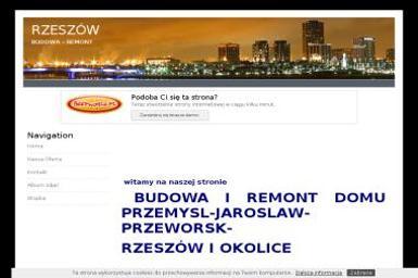 Www.budowa-rzeszow.beepworld.pl - Budowanie Przemysl