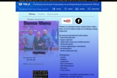 Dance Menu - zespół muzyczny - Agencje Eventowe Brzeg Dolny