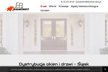 FHU DOMiNET - Okna z Drewna Chorzów