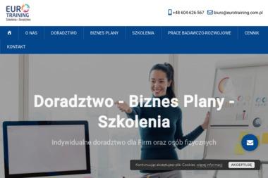 Eurotraining szkolenie i doradztwo - Biznes Plan Nowy Sąćz