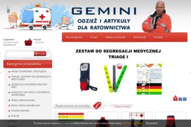 Gemini - Szycie Odzieży Roboczej na Zamówienie Limanowa