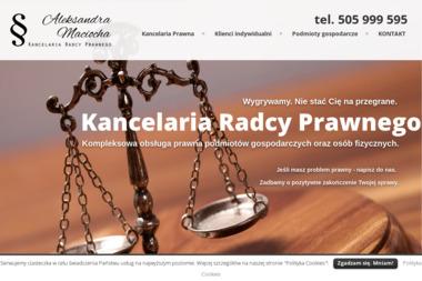 Kancelaria Radcy Prawnego Aleksandra Maciocha - Detektyw Poznań