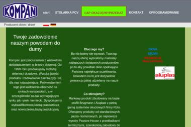 F.K.U. KOMPAN - Producent Okien Aluminiowych Dzierzkowice