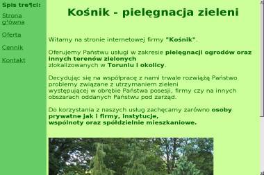 Kośnik - Prace Ogrodnicze Górsk