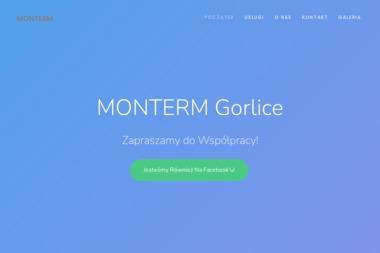 """""""MONTERM"""" Zakład Instalacyjno-Montażowy Sp. z o.o - Konstrukcje stalowe Gorlice"""